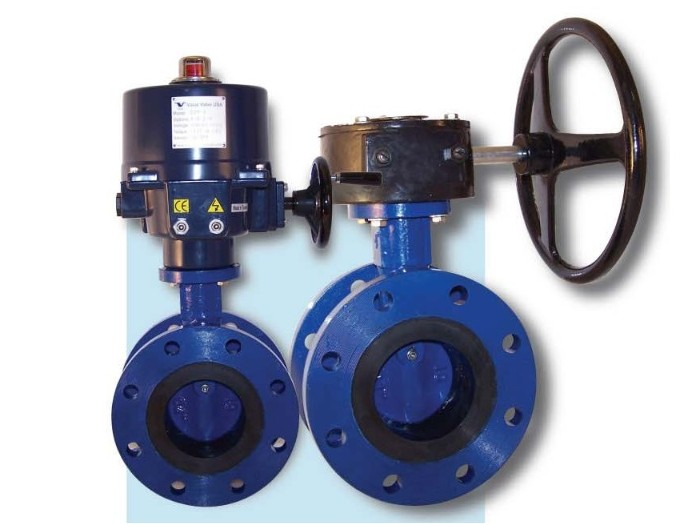 Reliant VF-504 Vulcanized Seat Flanged Butterfly Valve