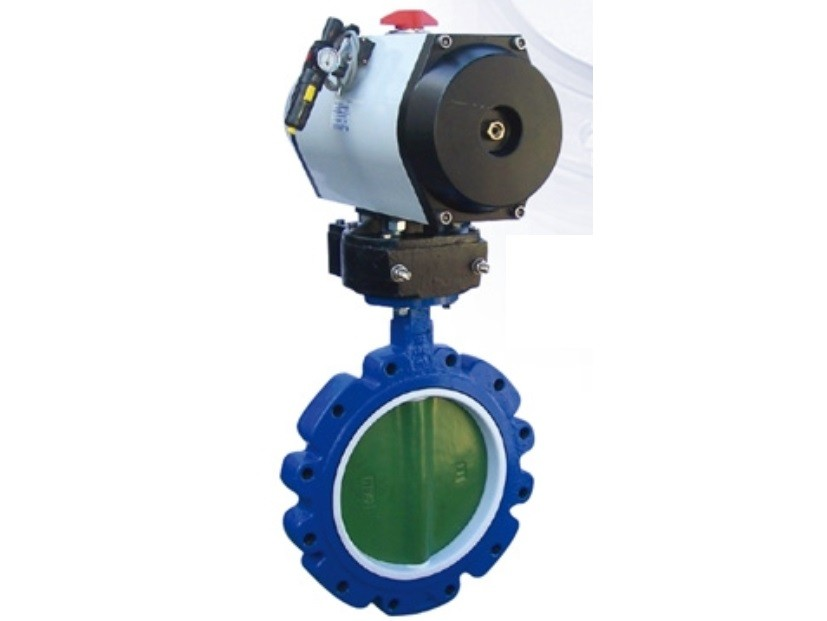 Electric Operated Plastic Butterfly Valve