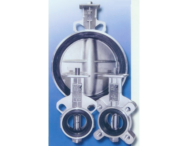 Stainless Steel Rubber Seated Butterfly Valve
