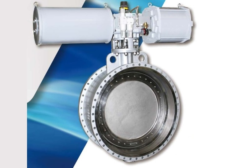 Triple-Offset Butterfly Valve