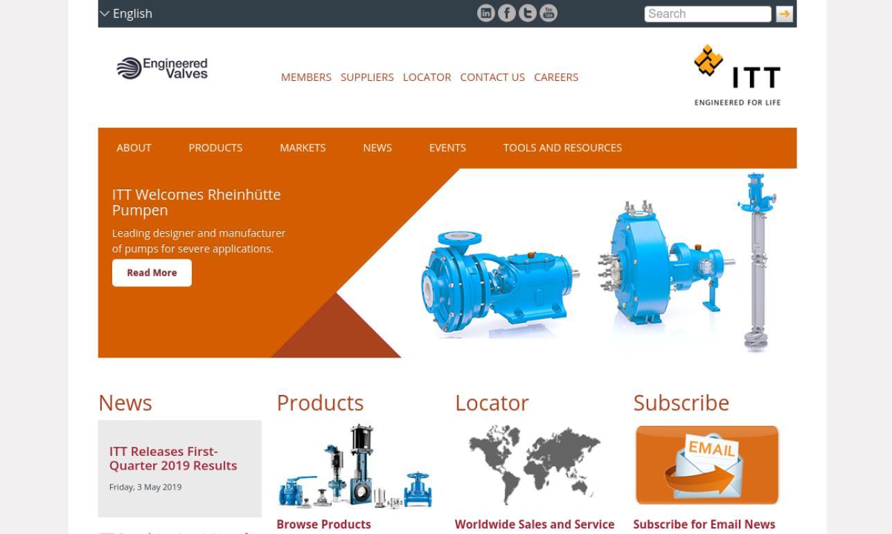 ITT Industries, Engineered Valves