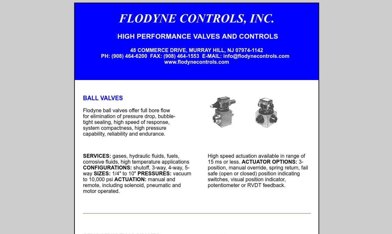 Flodyne Controls, Inc.