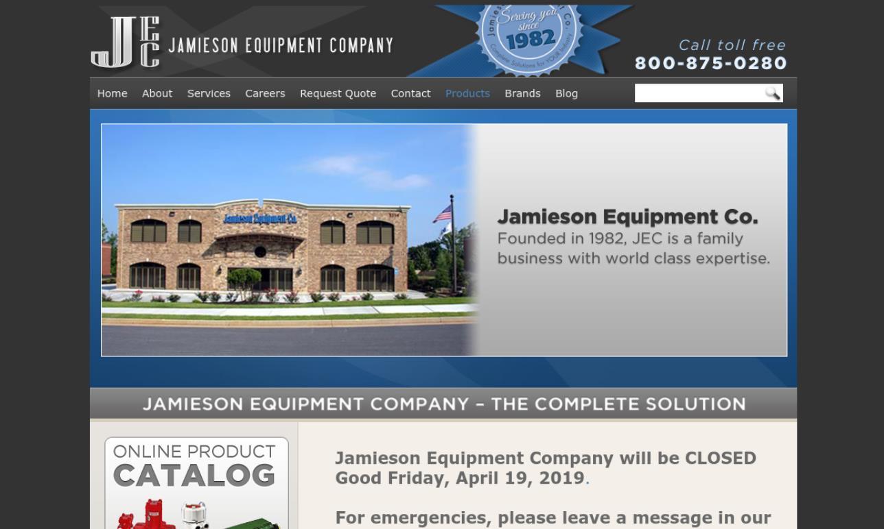 Jamieson Equipment Company, Inc.