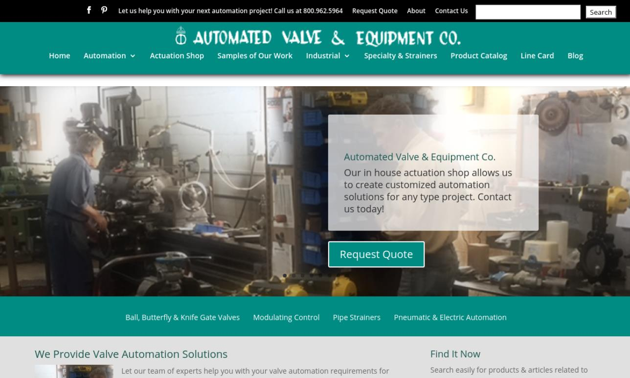 Automated Valve & Equipment Co.