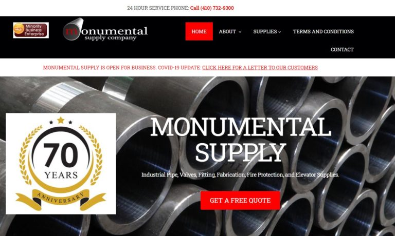 Monumental Supply Company, Inc.